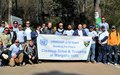 UNMOGIP  Cleanup Drive at Margalla Hills
